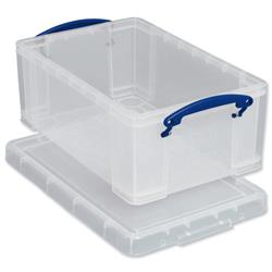 Really Useful Storage Box Plastic Lightweight Pack 3 3x5C