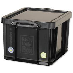 Really Useful Storage Box Plastic Recycled Robust Stackable 35 Litre W
