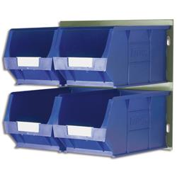 Barton Bin Kit Louvred Panel and 4 x TC4 Bins Blue 010097GB