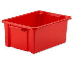 Strata Storemaster Crate Red Midi 360x270x190mm